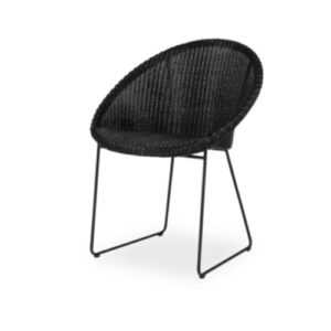 Joe dining chair all black cut out