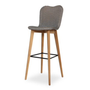 Lily Counter stool Pebble cut out