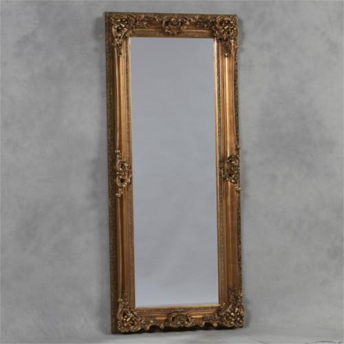 Parisian Tall Ornate Leaner Mirror Respire Living