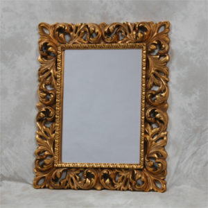 The Ariana Ornate Framed Gold Mirror