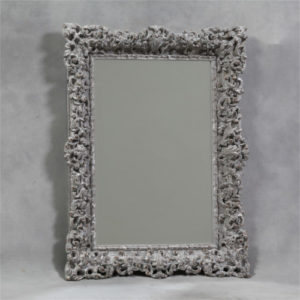 The Firenze Ornate Grey Mirror