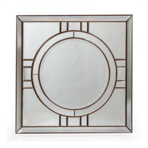 Francisco Art Deco Mirror Gold