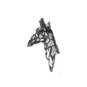 Dappled Silver Giraffe head