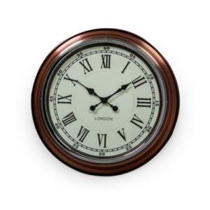 London Copper Clock cream face