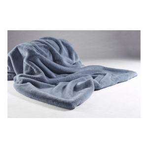 Soft Blue Throw