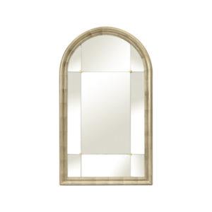 Hallaton Champagne Arched Mirror