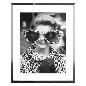 Lady in Sunglasses Framed Print