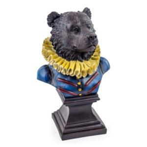 Military Bear Bust