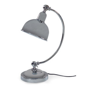 Chrome Arched Desk Lamp