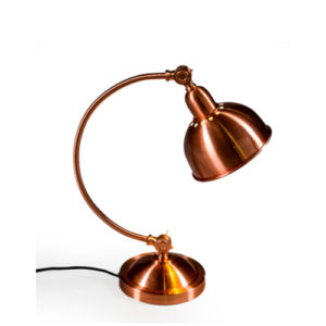 Vintage Copper Arched Desk Lamp