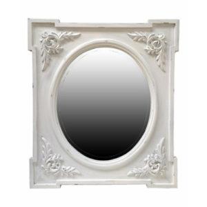 La Rochelle Mirror White