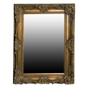Orlebar Antiqued Gold Mirror