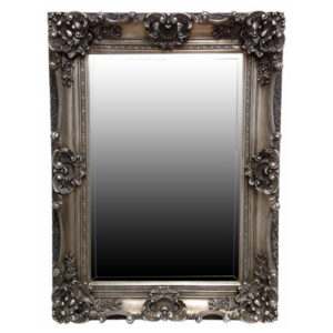 Orlebar Antiqued Silver Mirror