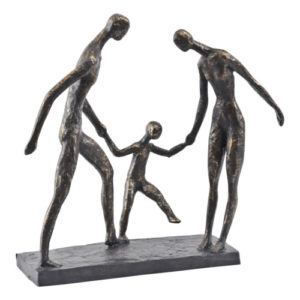 Mum, Dad & Junior Sculpture