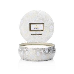 Voluspa Japonica Mokara 3 wick tin scented candle