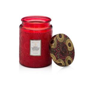 Voluspa Goji & Tarraco Orange Scented Candle in a Jar