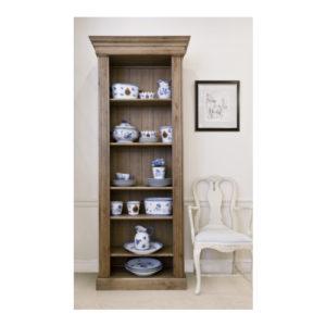 Katrina Scandi Style Oak Bookcase Sgl