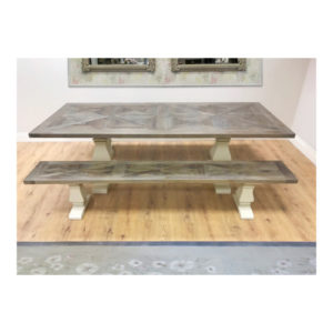Katrina Dining Table and Bench