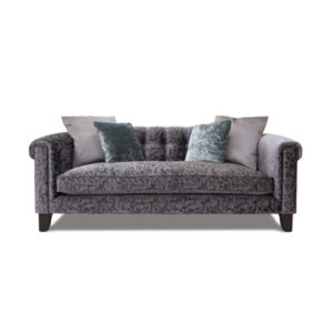 Mitford Large Lounger in Bellini Velvet Nero