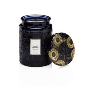 Voluspa Japonica Scented Candle Jar Mosu bamboo