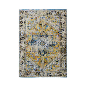 Virgo Aged Rug - Golden Yellow