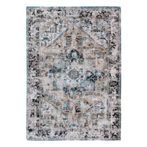 Virgo Aged rug blue beige