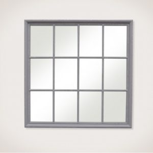 Henrik Square Window pane Mirror