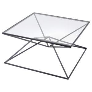 Cairo Coffee Table black iron frame