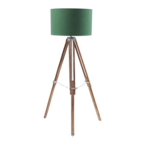 Apollo Tripod Lamp Green shade