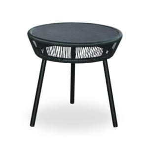 Loop side table black