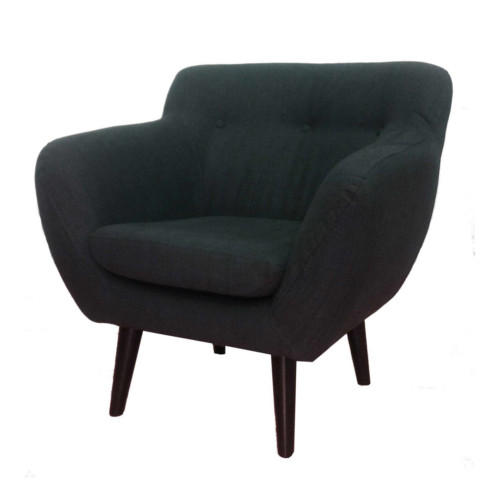 vincent tub chair charcoal respire living
