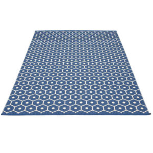Pappelina Honey Denim Blue Rug