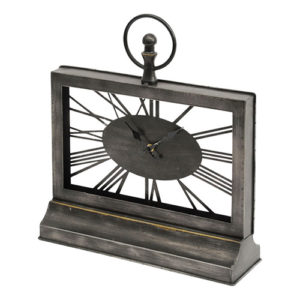 Black-Iron-Rectangular-Mantel-Clock-500x500