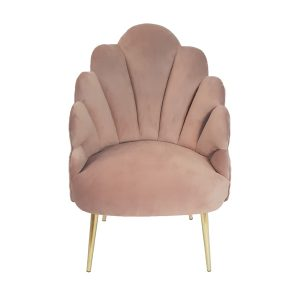 Blush Pink Megan Tulip Chair