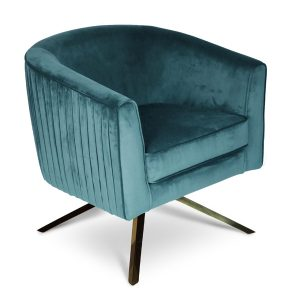Jade Green Harry Swivel Chair