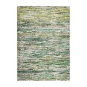 Sahara Rug Vibrant Green stripe