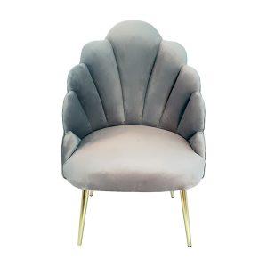 Light Grey Megan Tulip Chair