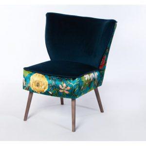 Portobello Chair Passiflora Kingfisher