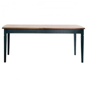 Hanley Dining Table – Deep Blue Grey