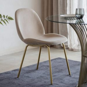 Whitney Dining Chair – Oatmeal (set of 2)