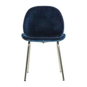 Whitney Dining Chair – Petrol Blue (set of 2)